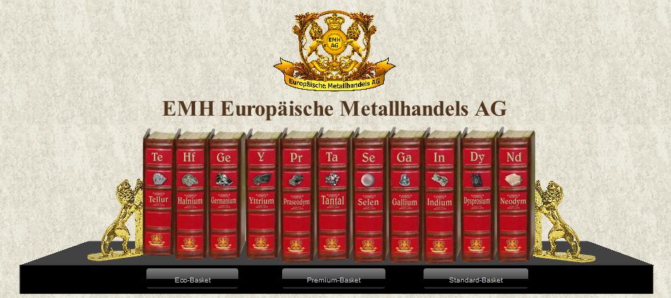9 unschlagbare Gründe, strategische Metalle bei der EMH Europäische Metallhandels AG zu kaufen